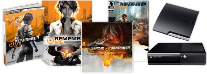 'Remember Me' Remix Contest Prizes
