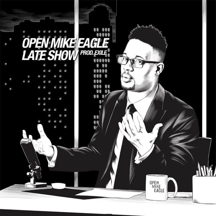 "Open Mike Eagle ""Dark Comedy Late Show"""